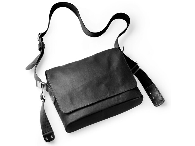 Brooks Paddington Shoulder Bag total black